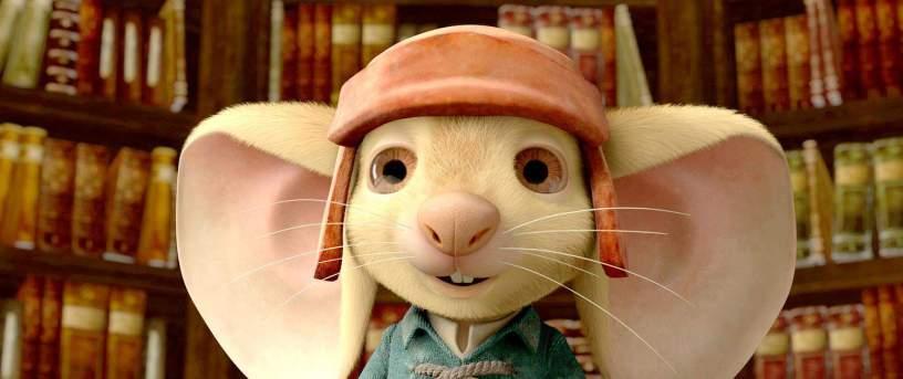 O corajoso ratinho Despereaux - Divulgação